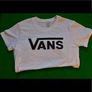 White Vans T-shirt